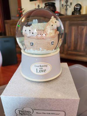 Precious moments Noah's Ark 100 mm water globe for Sale in San Dimas, CA