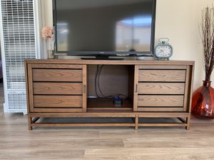 Crate and Barrel TV Console for Sale in San Diego, CA