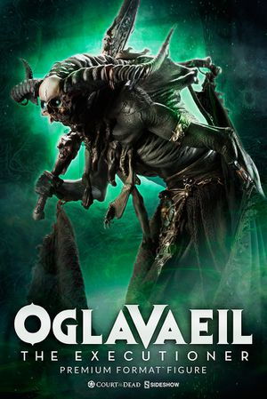 Sideshow Collectibles Oglavaeil the Executioner Premium Format Statue Court of the Dead Maquette Horror for Sale in Whittier, CA