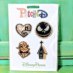 Disney Parks PatcheD Nightmare Before Christmas Patch Set for Sale in Tampa, FL