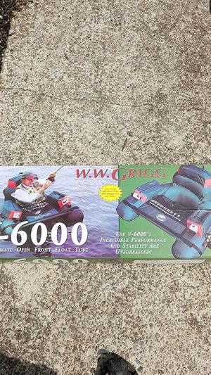W.W. GRIGG FLOAT TUBE for Sale in Tigard, OR
