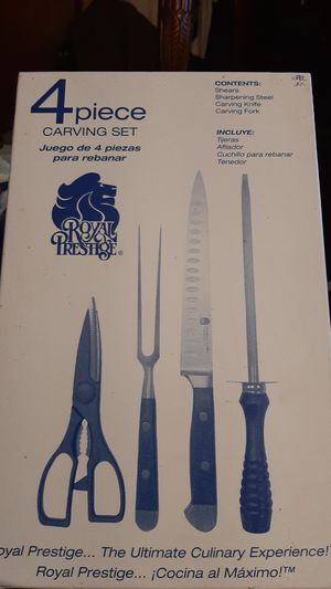 Royal Prestige 4 Piece Carving Set for Sale in Jamaica, NY