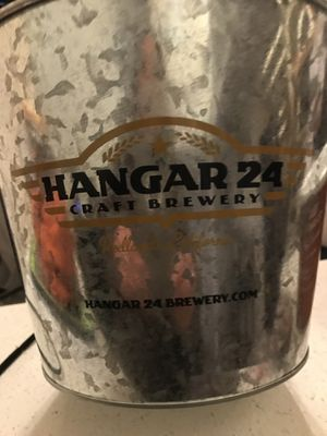 Hangar 24 Craft Brewing small shirt and galvanized beer bucket for Sale in Baldwin Park, CA