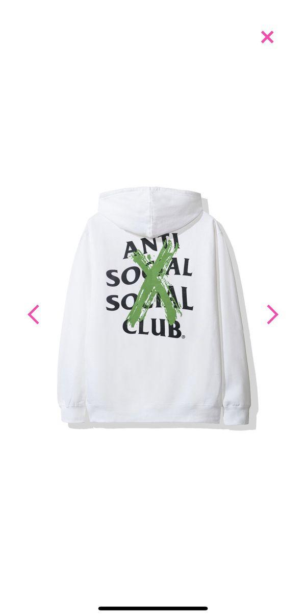 Anti social social club canceled hoodie