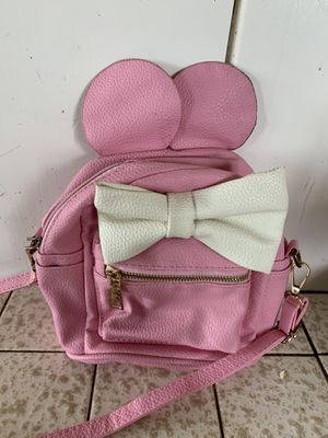 Disney pack pack purse - pink leather for Sale in El Cajon, CA