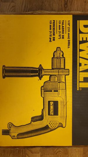 "NEW DeWALT DW235G 1/2"" (13mm) Drill, never opened for Sale in Georgetown, TX"
