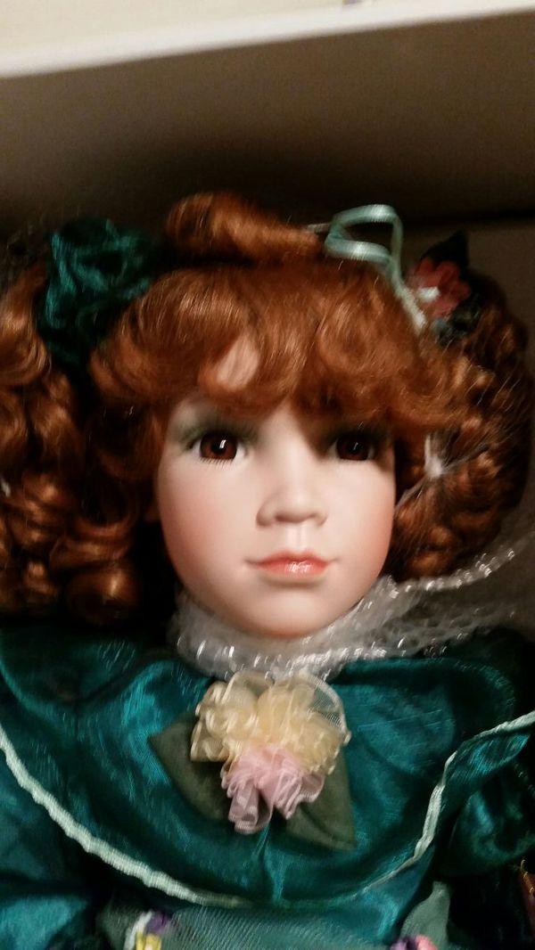 "Porcelain Doll 24"" William Tung Collection"