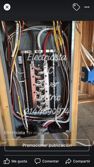 Electricista for Sale in Irving, TX