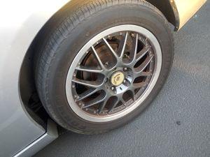 Rims full set of alluminum rims. 5 hole fits honda Toyota Nissan for Sale in San Bernardino, CA
