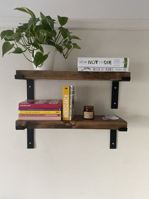 Industrial/Rustic Wood (4) Bookshelves for Sale in San Francisco, CA