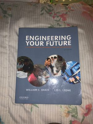 Engineering your future by Oakes and Leone for Sale in El Sobrante, CA