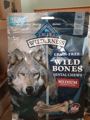 Blue Wilderness dog bones for Sale in Torrington, CT