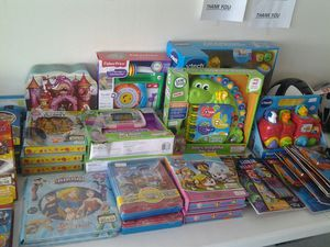 Assortment of toys & games for Sale in Allentown, PA