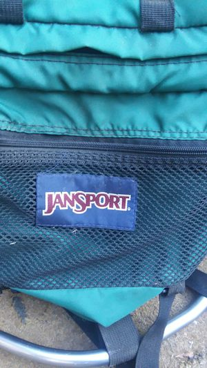 Jansport backpacking backpack. Metal frame for Sale in Concord, CA