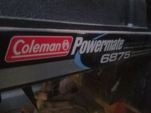 Coleman generator for Sale in Fresno, CA