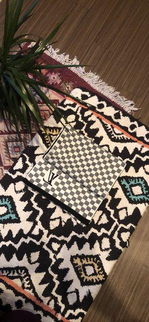 Brand new cashmere scarf w LV design for Sale in Washington, DC