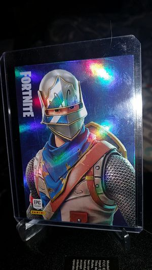 Fortnite blue squire Halo rare outfit #156 panini 2019 for Sale in New Albany, IN