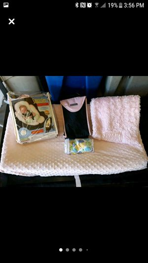 Changing table pad , Car seat Snuzzler boppy pillow cover for Sale in Brentwood, CA