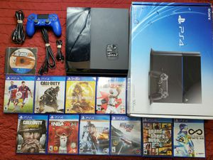 Sony Playstation 4 PS4 CUH-1001A 500GB Gaming Console 11 Games Combo Lot Bundle for Sale in Chicago, IL