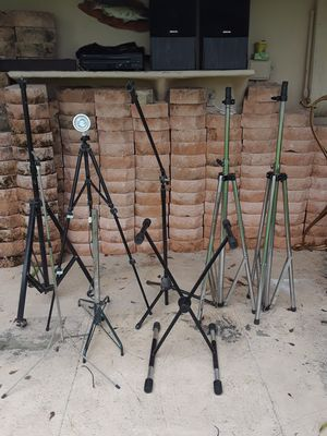 Asurted music stands prices vary(cheep) for Sale in US