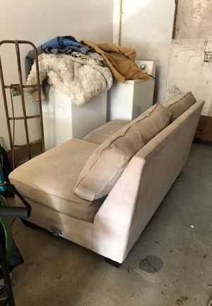 Light tan couch for Sale in Roseville, CA