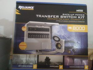 Transfer switch life saver!! for Sale in Canton, TX