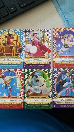 Disney Sorcers Collectable Cards for Sale in Riverview, FL