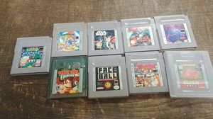 9 gameboy games excellent titles for Sale in High Point, NC