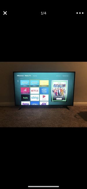 55 inch smart tv for Sale in Baltimore, MD