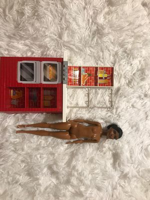 Kitchen and girl Barbie doll for Sale in Ontario, CA
