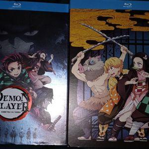 Demon Slayer Season 1 Part 1 & 2 for Sale in Dallas, TX