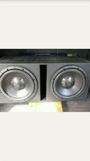 """Memphis 12""""s in duel ported Q Bomb pro box for Sale in Kolin, LA"""
