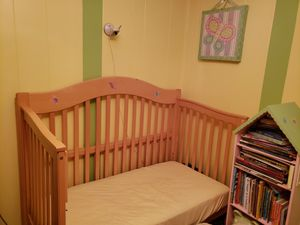 Crib and changing table for Sale in Conshohocken, PA