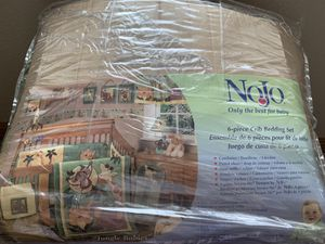 Nojo crib bedding set for Sale in Baxter, MN