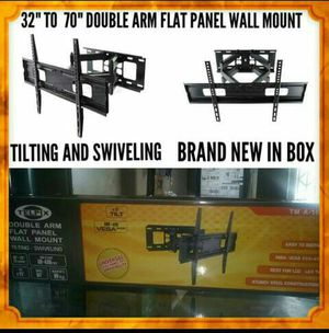Heavy Duty TV Wall Mount for 32-70″ LED, LCD, OLED and Plasma Flat Screen TV with Full Motion Swivel Articulating Dual Arms, up to VESA 600 x 400 for Sale in Downey, CA