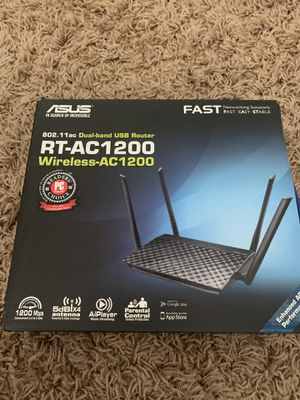 Asus RT-AC1200 Dual-band USB Router for Sale in Peoria, AZ