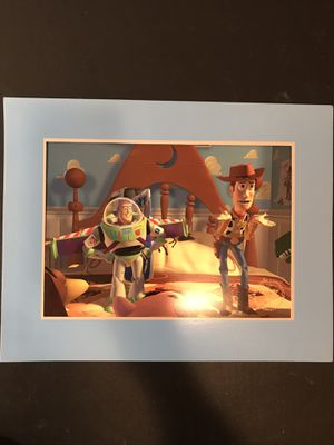 Disney Toy Story lithograph NEW with it's envelope for Sale in Bethesda, MD