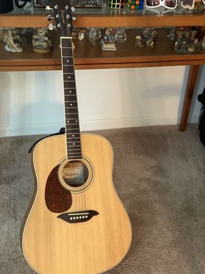 Korean Jungeum Left Handed Accoustic Guitar for Sale in Wrightstown, NJ