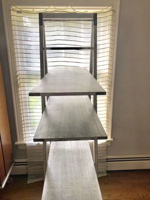 Rusted Silver Bookshelf Ladder - $130 for Sale in Glen Allen, VA