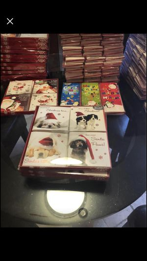 Christmas Cards $1 a pack of 12. Must at least buy 2 for Sale in Largo, FL