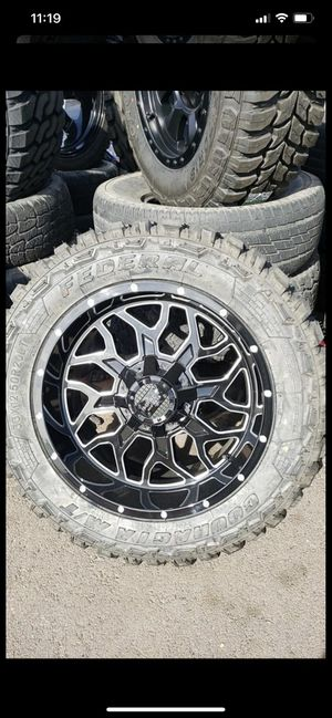 20x10 with tires 33125020 $1299 for Sale in Phoenix, AZ