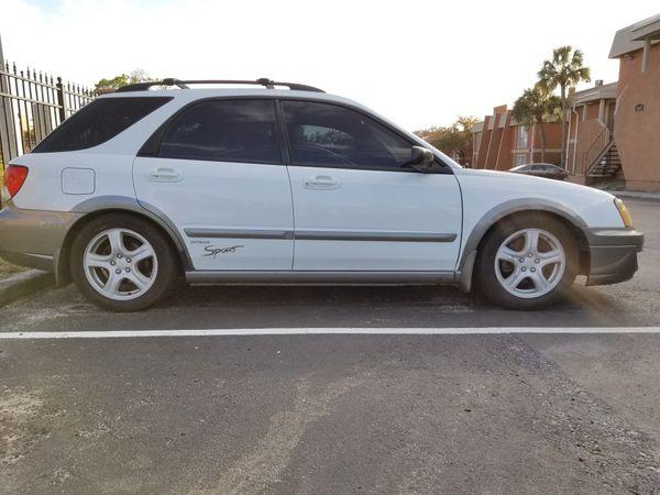 2004 subaru outback sport auto trans AWD