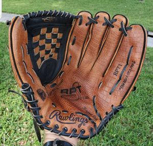 RAWLINGS RPT1 14 INCH ALL LEATHER SOFTBALL GLOVE for Sale in Boca Raton, FL