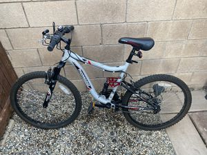 Kids mongoose mountain bike 21 speed Front and Rear shocks for Sale in Murrieta, CA