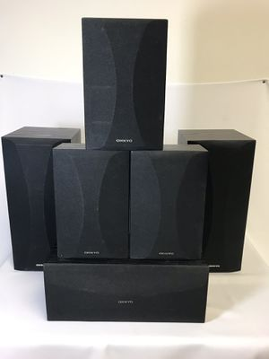 Onkyo surround sound speakers for Sale in Sanford, FL