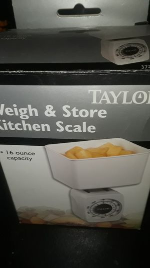 Weigh & Store kitchen Scale for Sale in Stone Mountain, GA