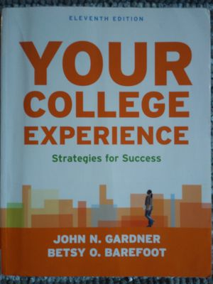 Your College Experience Book for Sale in Chico, CA