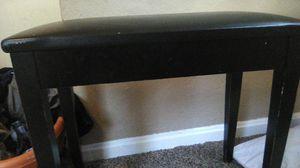 A black bench for Sale in Wichita, KS