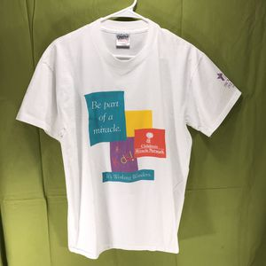 Vintage Single Stitch Children's Miracle Network T-Shirt Men's Size Large for Sale in Anchorage, AK
