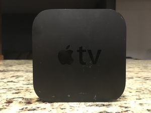 Apple TV w/remote and HDMI cord for Sale in Fort Lauderdale, FL
